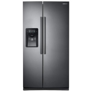 Side-by-side fridges
