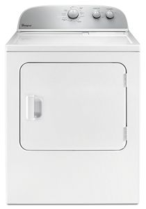 whirlpool topload gas dryer