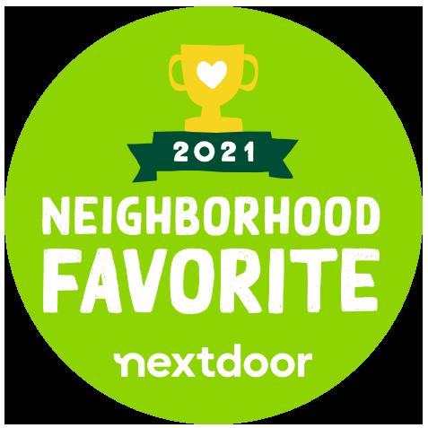 2021 Nextdoor Neighborhood Favorite Award